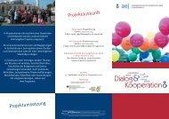 Dialog & Kooperation - Arbeitsgemeinschaft der Evangelischen ...