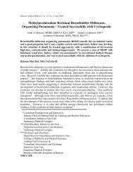 Methylprednisolone Resistant Bronchiolitis Obliterans - Bahrain ...