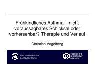 Vortrag Dr. Vogelberg, Frühkindliches Asthma-nicht voraussagbares ...