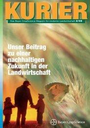 Unser Beitrag zu einer nachhaltigen Zukunft in der Landwirtschaft