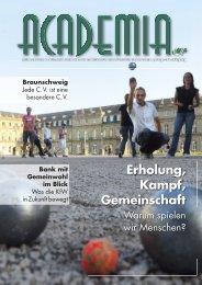 Erholung, Kampf, Gemeinschaft - Cartellverband der katholischen ...