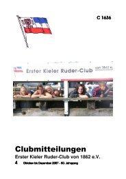 Ausgabe 4/2007 - Erster Kieler Ruder-Club von 1862 e. V.
