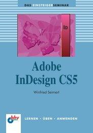 Adobe InDesign CS5 - Verlagsgruppe Hüthig Jehle Rehm GmbH