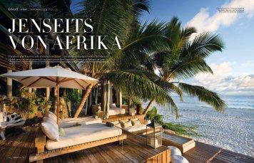 Paradiesische Traumresorts im Indischen Ozean ... - Vamizi Island
