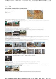 Page 1 of 10 susi & ruedi on tour; Australia 2007, Kooroorinya ...