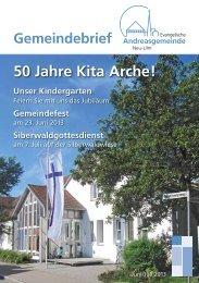 Juni/Juli 2013 - Andreasgemeinde - Telebus