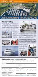 Flyer Ultramarin Boat Show - Pantaenius