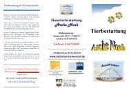 Tierbestattung - Aachener Haustierbestattung & Haustierservice ...