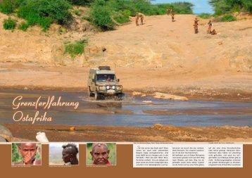 Grenz(er)fahrung Ostafrika - Hinter dem Horizont