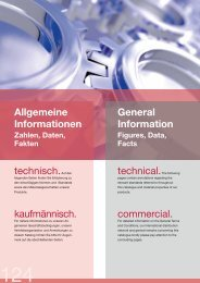 Allgemeine Informationen General Information technisch ... - SwelBalt