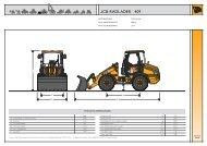 Datenblatt für den JCB Radlader 409 - DEMCO Baumaschinen