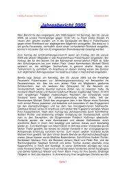 Jahresbericht 2005 als pdf Datei