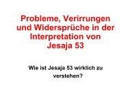 Wie ist Jesus als unser - Hopeandmore.at