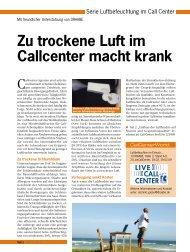 Artikelreihe kostenlos downloaden - CallCenter PROFI