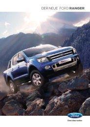 Ford Ranger Broschüre