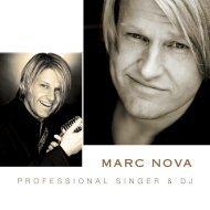 Marc Nova / Info Booklet - Bowlingcenter Baden-Baden