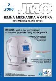 2 2006 jemn mechanika a optika fine mechanics and optics - Jemná ...