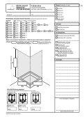 BESTELLBLATT GANZGLAS- Duschnischen SYSTEM ... - Cristalux - Seite 4