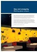 Produktbroschüre Bedrucktes Glas - FLACHGLAS Wernberg - Seite 2