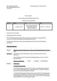 Niederschrift - Stadt Braunschweig - Veranstaltungen