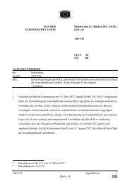 14913/12 - Öffentliches Register der Ratsdokumente