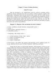 1 Chapter 5: Causes of balance disorders Linda M ... - Famona Site