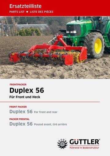 Duplex 56 - Güttler GmbH