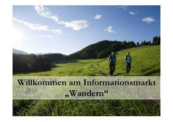 Wandern - Tourismusverband Alpenregion Tegernsee Schliersee eV
