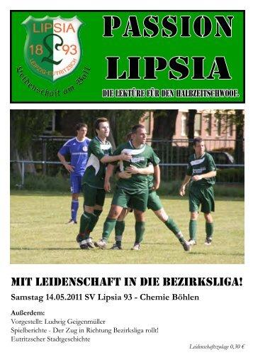Heft 12 - SV Lipsia 93 Leipzig-Eutritzsch