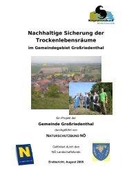 Gemeinde Großriedenthal - Naturschutzbund NÖ