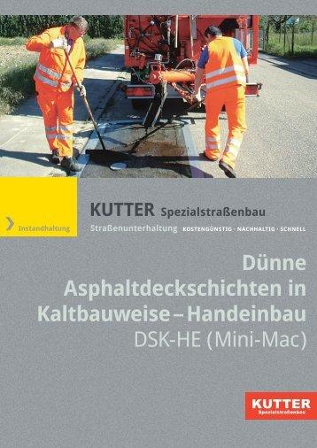 DSK-HE - KUTTER Spezialstraßenbau GmbH & Co. KG