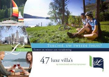 Brochure Tsjechië (.pdf) - Residence Lipno