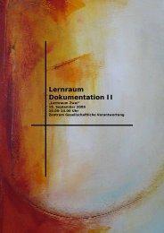 Dokumentation Lernraum 2 (18. September 2009) - Leitthema