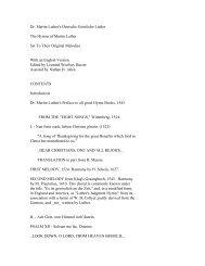 Dr. Martin Luther's Deutsche Geistliche Lieder The ... - Pink Monkey