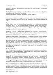 Forslag til landstingsbeslutning om Grønlands ... - Inatsisartut