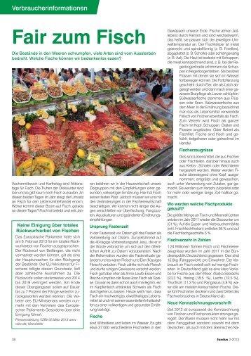 163,91KB Fair zum Fisch - Bundesverband hauswirtschaftlicher ...