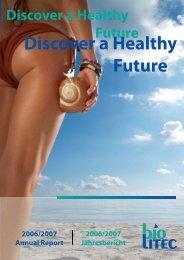 Discover a Healthy Future - biolitec AG