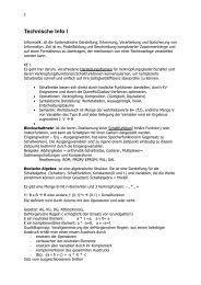 Technische Informatik I (184 KB)