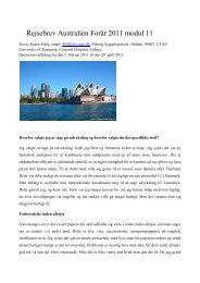 Læs Karens rejsebrev her (pdf) - VIA University College