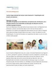 mauritius images präsentiert jetzt exklusiv Carsten Rademacher ...