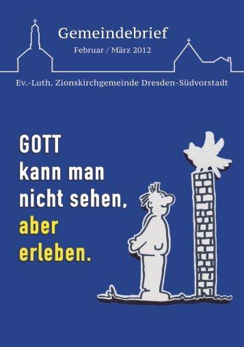 Gemeindebrief – Februar / März 2012 - Ev.-luth. Zionskirche Dresden