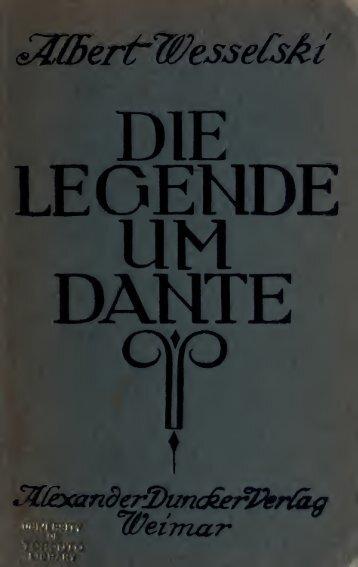 Die Legende um Dante