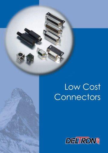 Low Cost Steckverbinder - Deltron AG