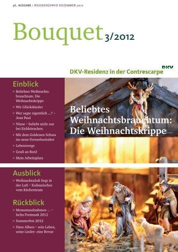 Bouquet Ausgabe - 3/2012 - DKV-Residenz in der Contrescarpe