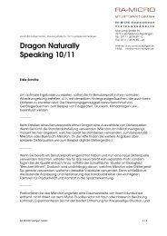 Dragon Naturally Speaking 10/11