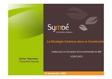 La Stratégie Carbone dans la Constructio - Iceb