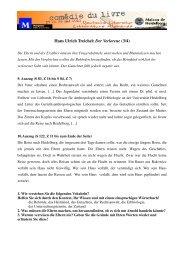 Hans Ulrich Treichel: Der Verlorene (3/4) - Maison de Heidelberg