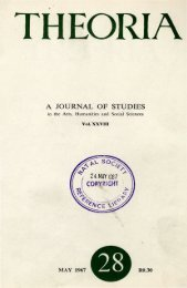 a journal of studies in the Arts, Humanities and Social ... - DISA