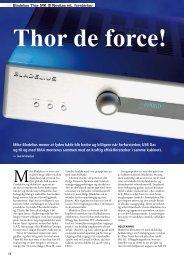 Mike Bladelius mener at lyden både blir bedre og billigere når ...