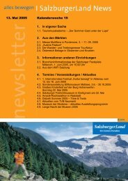 Nummer 19/2005 - SalzburgerLand Netoffice